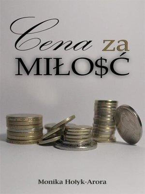 cover image of Cena za miłość