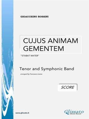 cover image of Cujus Animam Gementem--G.Rossini (SCORE)