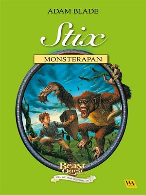 cover image of Stix--monsterapan
