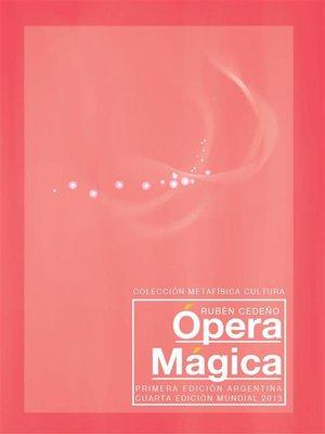 cover image of Ópera Mágica