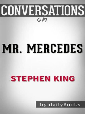 cover image of Mr. Mercedes--A Novel by Stephen King