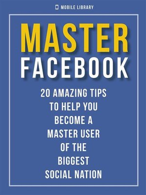 cover image of Master Facebook