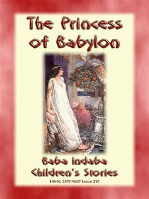 cover image of THE PRINCESS OF BABYLON--The story of Formosante
