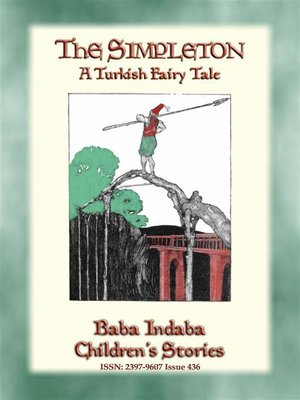 cover image of THE SIMPLETON--A Turkish Fairy Tale