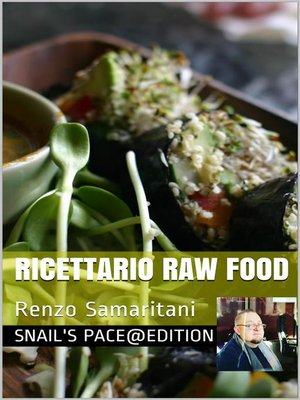 cover image of Ricettario Raw Food