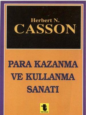 cover image of Para Kazanma ve Kullanma Sanatı