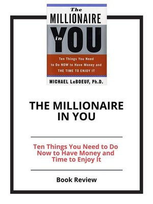 cover image of The Millionaire in You