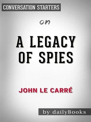 cover image of A Legacy of Spies--by John le Carré​​​​​​​