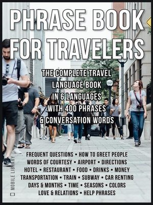 cover image of Phrase Book for Travelers