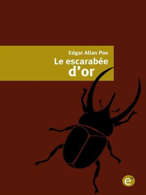 cover image of Le escarabée d'or