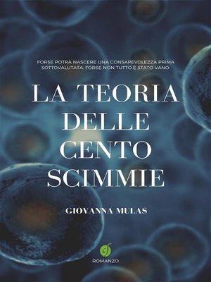 cover image of La teoria delle cento scimmie