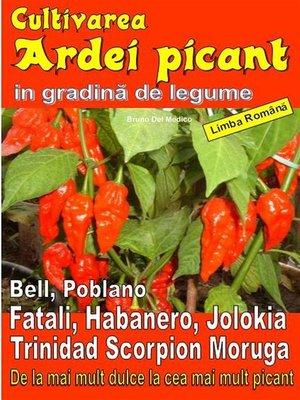 cover image of Cultivarea ardei picant in gradină de legume