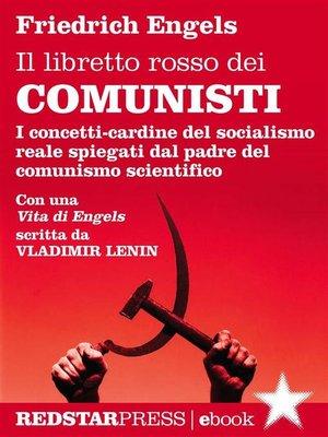 cover image of Il libretto rosso dei comunisti