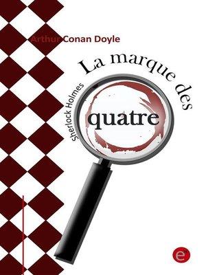 cover image of La marque des quatre