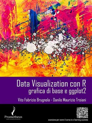 cover image of Data Visualization con R