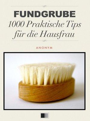 cover image of Fundgrube 1000 Praktische Tips für die Hausfrau