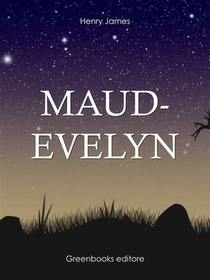 cover image of Maud-evelyn
