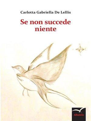 cover image of Se non succede niente
