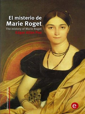 cover image of El misterio de Marie Roget/The mistery of Marie Roget