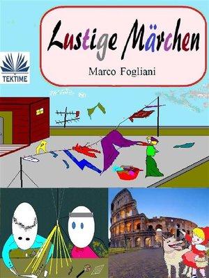 cover image of Lustige Märchen