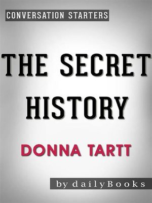 cover image of The Secret History--by Donna Tartt | Conversation Starters