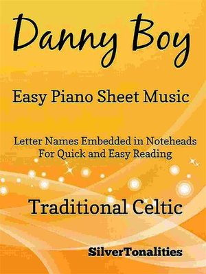 cover image of Danny Boy Easy Piano Sheet Music