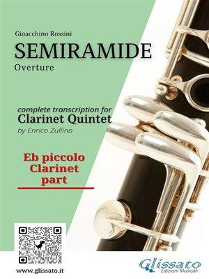 cover image of Semiramide--Clarinet Quintet (parts)