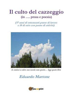 cover image of Il culto del cazzeggio