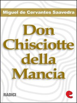 cover image of Don Chisciotte della Mancia