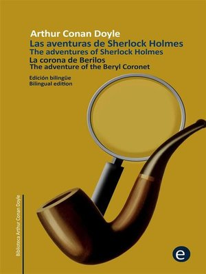 cover image of La corona de berilos/The adventure of the beryl coronet
