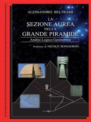 cover image of La sezione aurea nella Grande Piramide