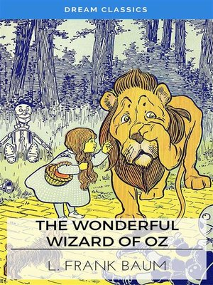 cover image of The Wonderful Wizard of Oz (Dream Classics)