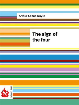 cover image of The sign of the four (low cost)