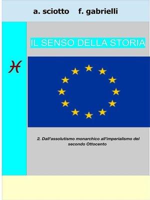 cover image of Il senso della storia 2