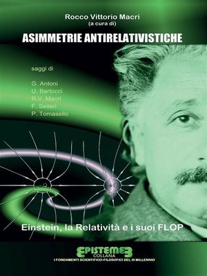 cover image of Asimmetrie antirelativistiche