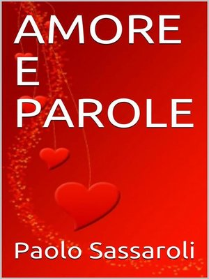 cover image of Amore e parole