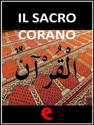 cover image of Il Sacro Corano