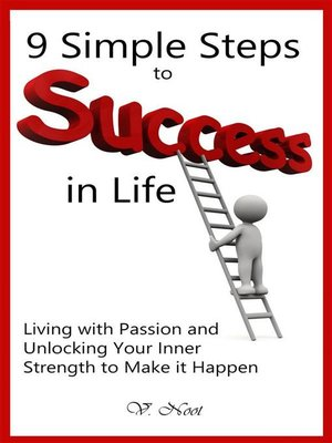 cover image of Simple Steps to Success