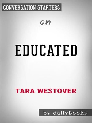 cover image of Educated--by Tara Westover