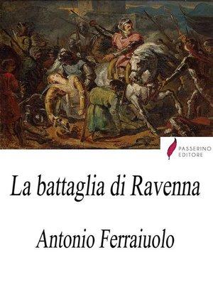 cover image of La battaglia di Ravenna