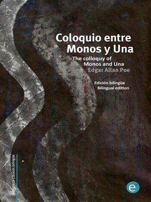 cover image of Coloquio entre Monos y Una/The colloquy of Monos and Una