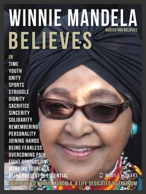cover image of Winnie Mandela Quotes and Believes