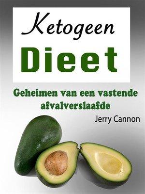 cover image of Ketogeen dieet