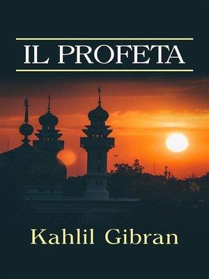 cover image of Il Profeta (Traduzione--David De Angelis)