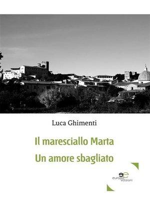 cover image of Il maresciallo Marta