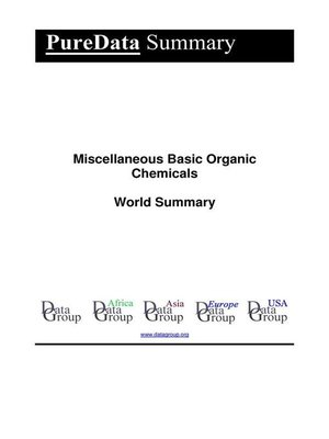 cover image of Miscellaneous Basic Organic Chemicals World Summary