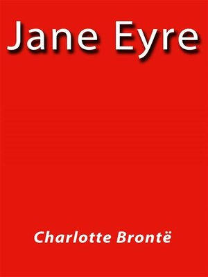 cover image of Jane Eyre--english