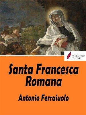 cover image of Santa Francesca Romana
