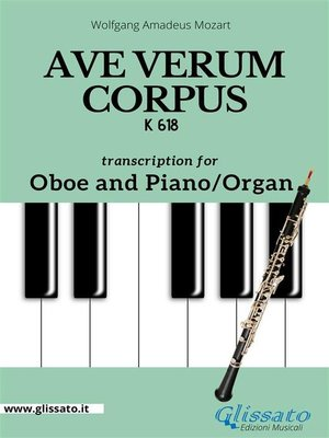 cover image of Ave Verum Corpus--Oboe and Piano/Organ