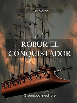cover image of Robur el conquistador